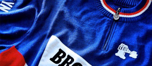 Brooklyn Roger De Vlaeminck cycling jersey merino wool