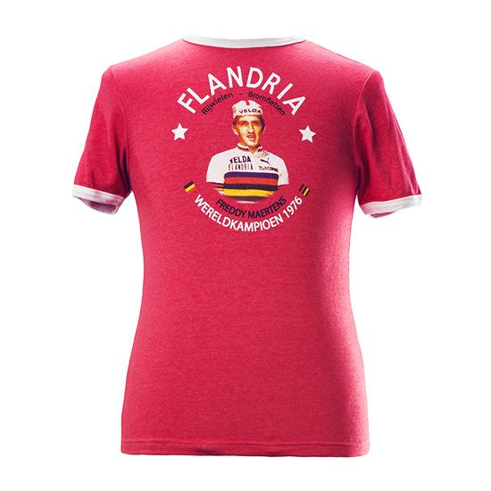 Freddy Maertens Wereldkampioen 1976 Flandria T-shirt