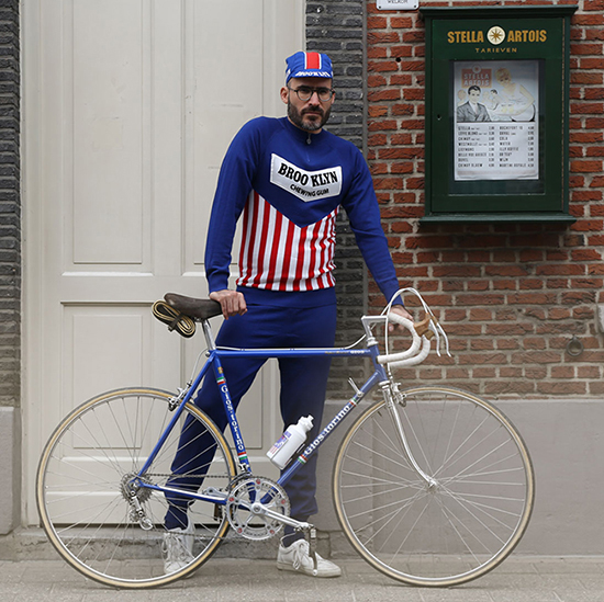 Brooklyn survetement cyclisme le gitan campagnolo