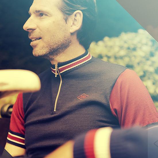 Simpson jersey GB team cycling merino wool retro vintage