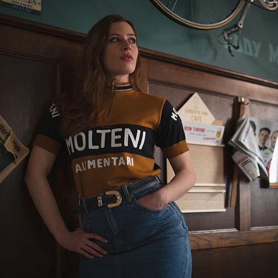 Molteni Eddy Merckx jersey merino wool vintage