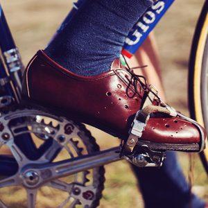 vintage cycling shoe retro merckx eroica