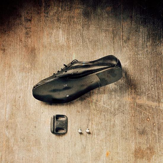 vintage retro chaussure cycliste merckx eroica