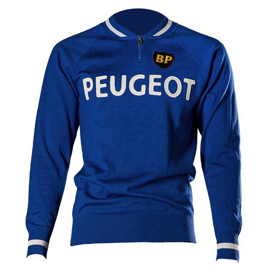 Peugeot top maillot cyclisme Merckx Simpson Thevenet