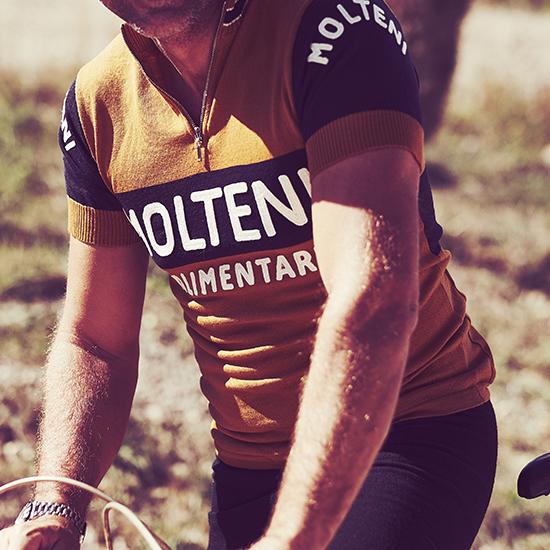 Merckx molteni maglia retro vintage eroica lanetta squadra ciclismo
