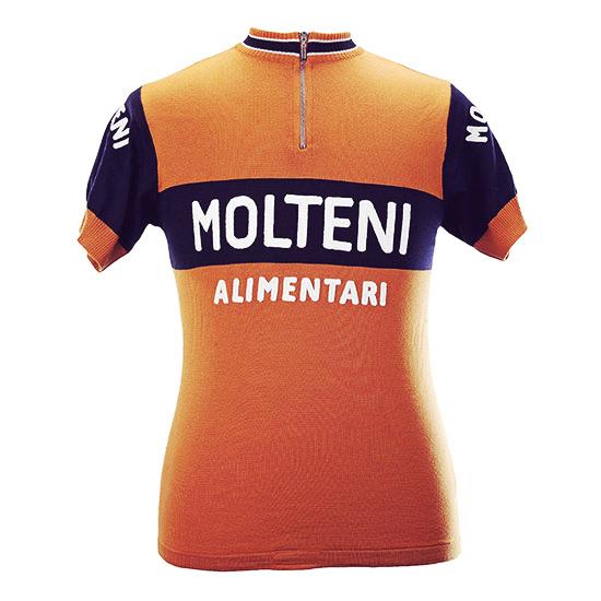 Eddy merckx molteni koerstrui merinowol retro eroica vintage wielrennen