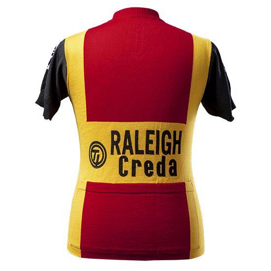 Raleigh Wool short sleeve jersey Kneteman Zoetemelk